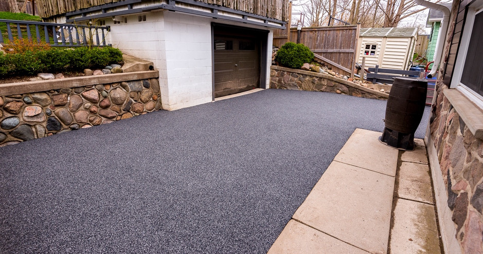 Softcrete Driveway Repair - Before & After