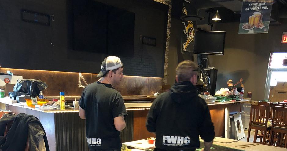Boston Pizza Hamilton - Commercial Restaurant Renovation