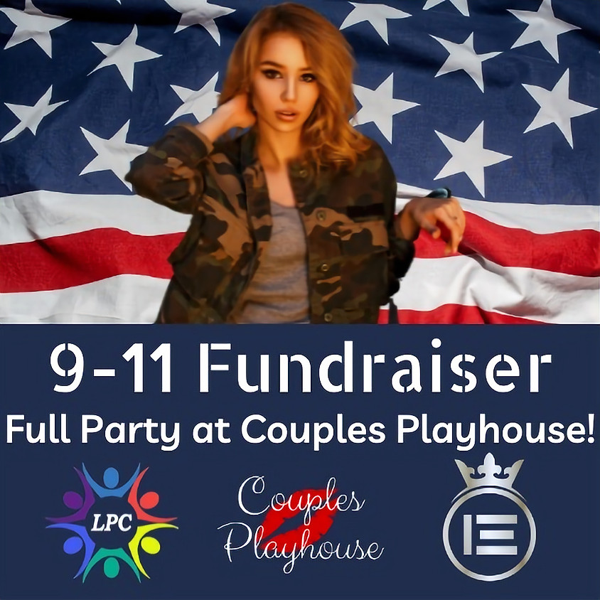 9/11 Fundraiser FREE @ Couple's Playhouse