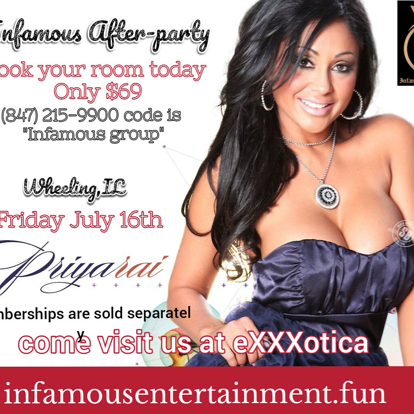 Infamous Entertainment EXXXOTICA After Party Day 1