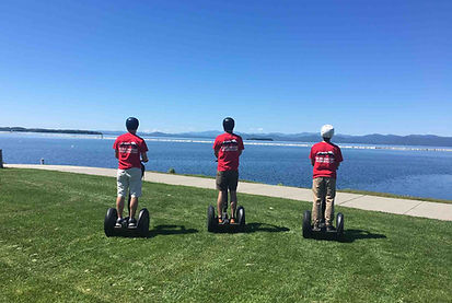 Burlington Segways at Waterfront Park
