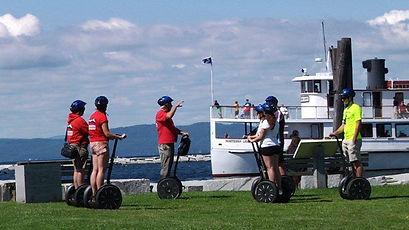 Waterfront Segway tour with Burlington Segways