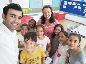 TALMA summer school students Israel