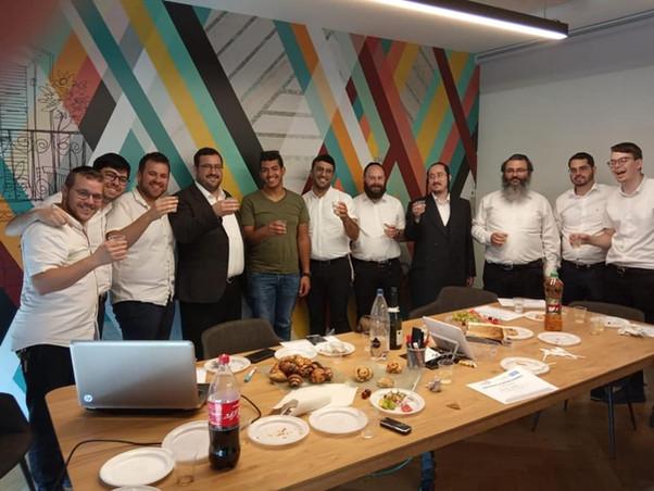 With Haredi men