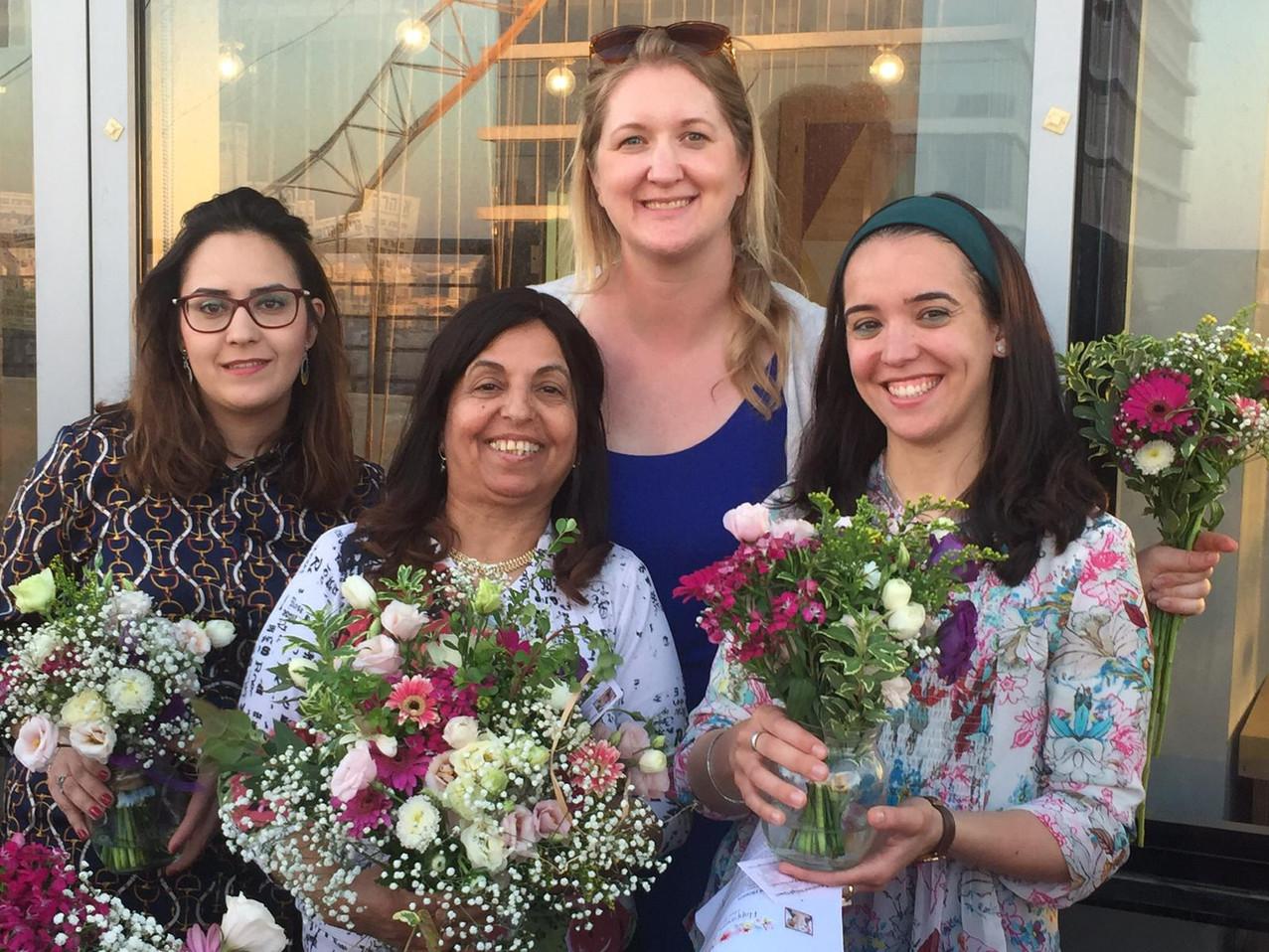 With Haredi women