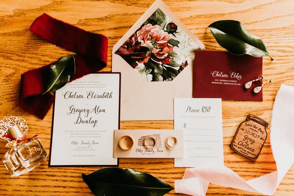 Wedding Invitaiton Suite