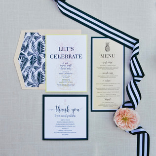 Party Invitation and Day Of Paper