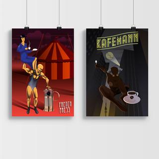Vektorová grafika v plakátech