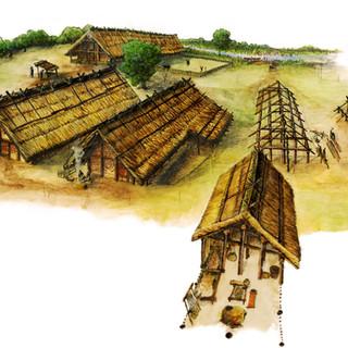 Neolitická vesnice