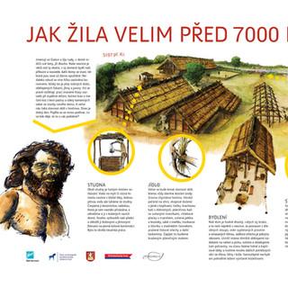 Naučná stezka pro Ústav archeologické památkové péče středních Čech