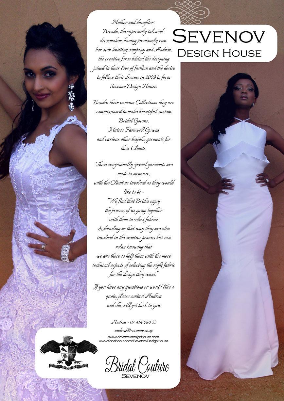 Sevenov Design House - Bridal Couture Pr