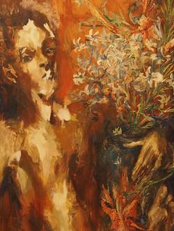 Parfums huile sur panneau 92x46