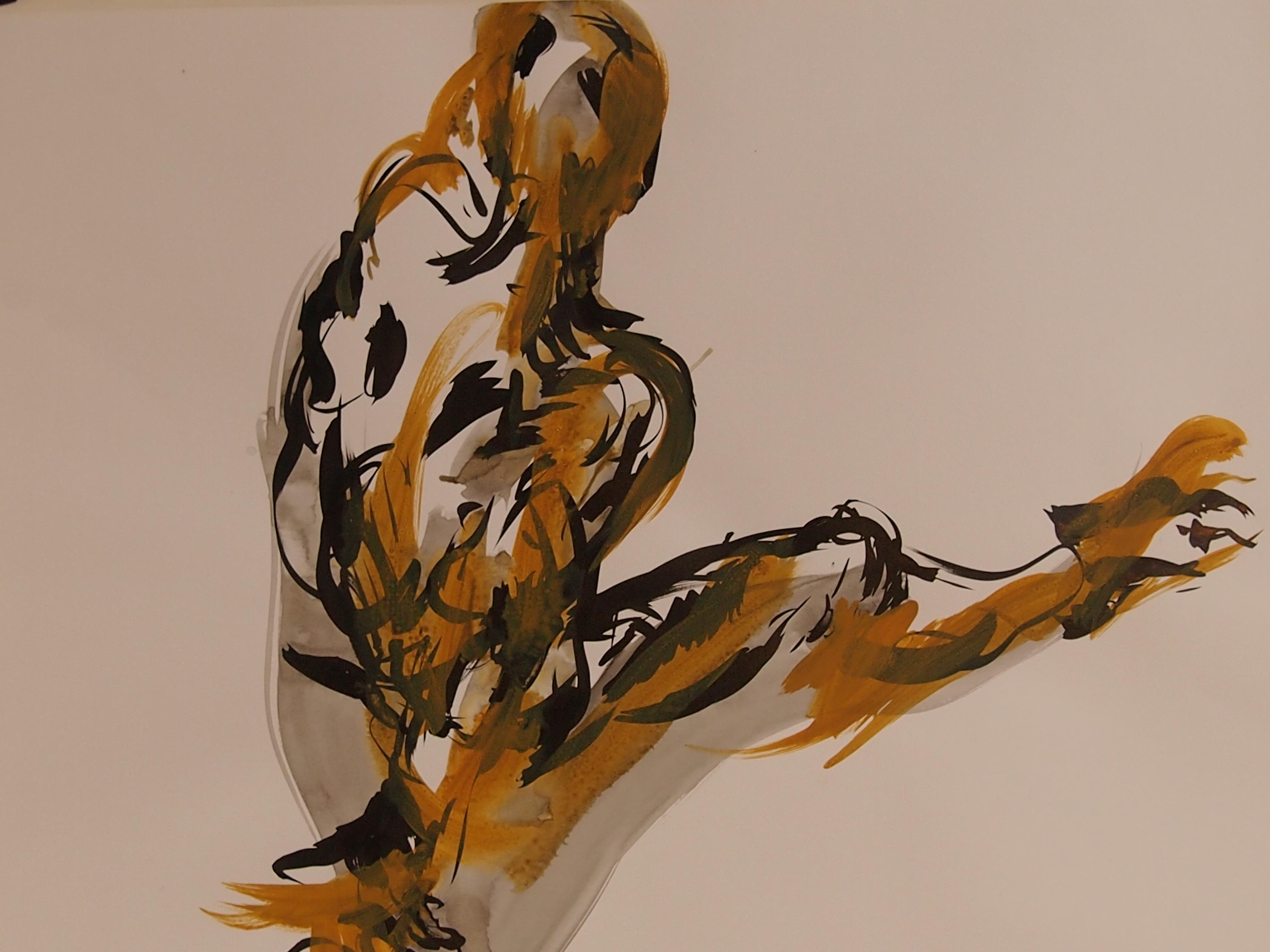 étude_de_nu_encre,acrylique_50x65