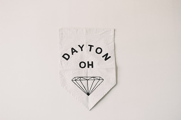 Dayton Gem City Spearhead Flag