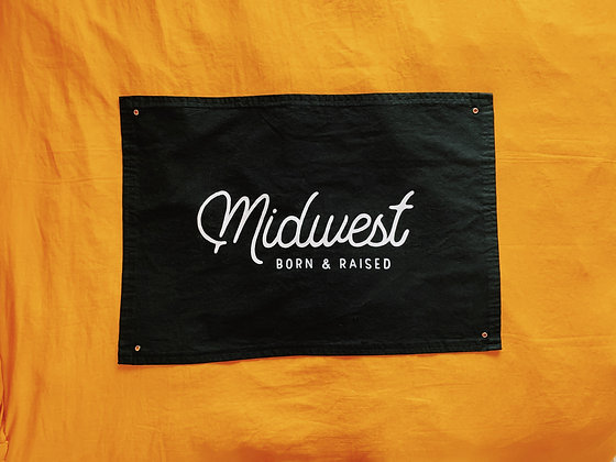 Midwest Born & Raised Banner