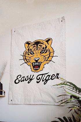 """""""Easy Tiger"""" Natural Banner"""