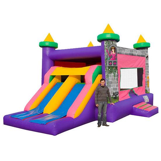 Princess Castle Dual Slide Combo