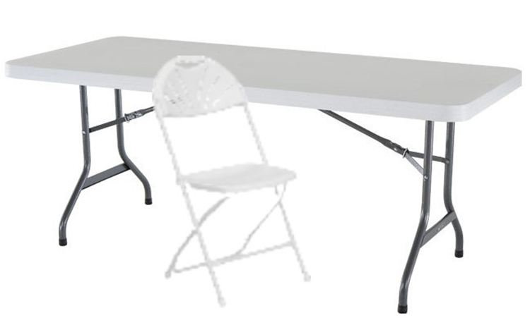 6' Table & 6 Chairs