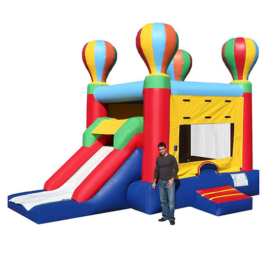 Hot Air Balloon Single Slide Combo