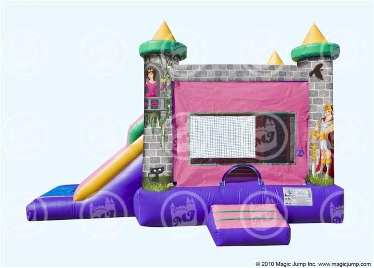 Princess Castle Single Slide Combo