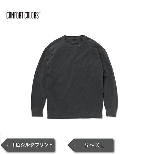 Comfort Colors® 9.5 oz ガーメントダイ クルーネック スウェットシャツ CC1566