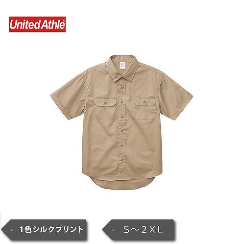 UnitedAthle T/C ワーク シャツ 1772-01