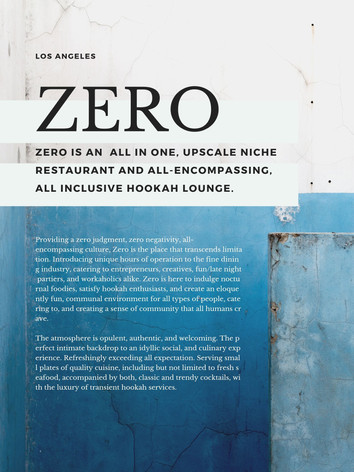 Zero - Business Deck