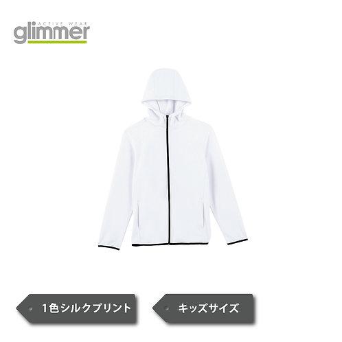 【KIDSサイズ】glimmer 7.7オンス ドライスウェットジップパーカー 00342-ASZ
