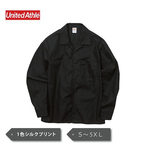 UnitedAthle  T/C オープンカラー ロングスリーブ シャツ 1760-01