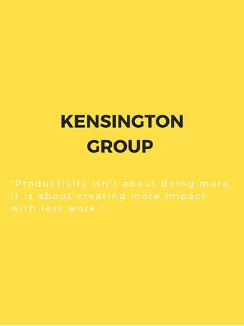 Kensington Group - Business Deck