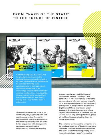 Grind Bankking - Fin-tech Public Relations Content