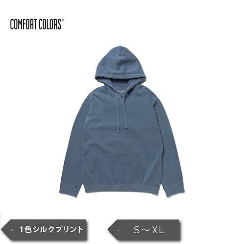 Comfort Colors® 9.5 oz ガーメントダイ フーデッド スウェットシャツ CC1567