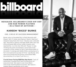 Billboard - Power Players Blurb