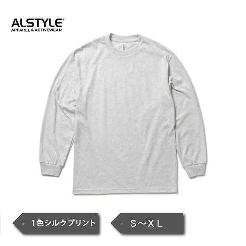 ALSTYLE Classic 6.0 oz Long Sleeve T-Shirt AS1304