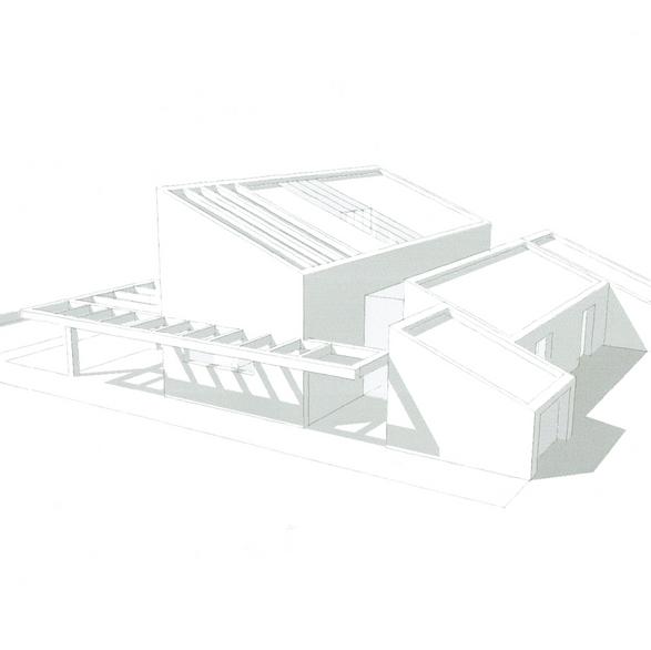 Etude Villa moderne- Ramatuelle
