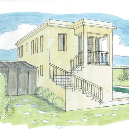 Transformation Maison de gardien - Cap d'Antibes
