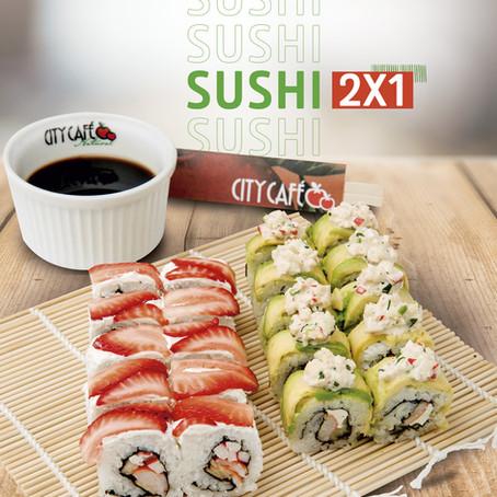 Promoción Sushi 2x1