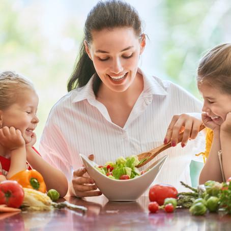 Alimentación de los niños en cuarentena