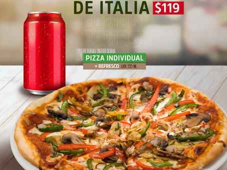 Promoción Combo Sabor de Italia