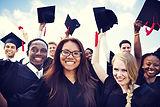 Group of Diverse International Graduatin