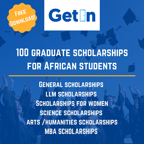 100 Scholarships for African Students.pn