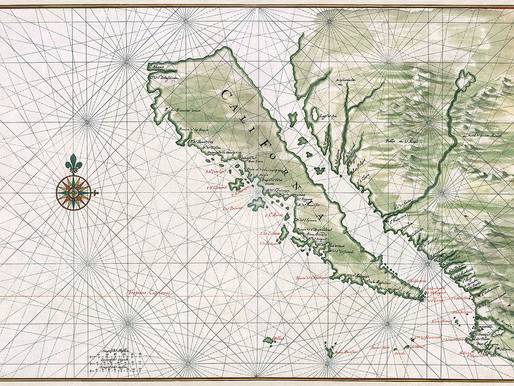 An Island in California that was once the 3rd largest state in the United States