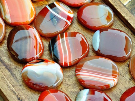 Crystal Of The Month - Carnelian