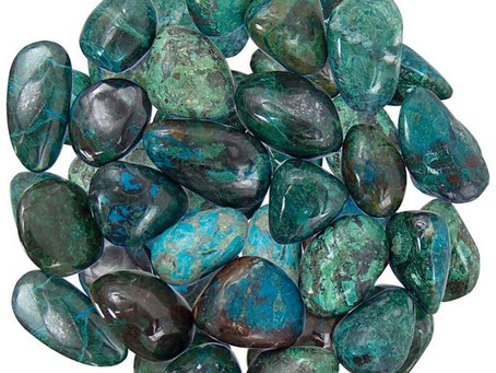Crystal Of The Month - Chrysocolla