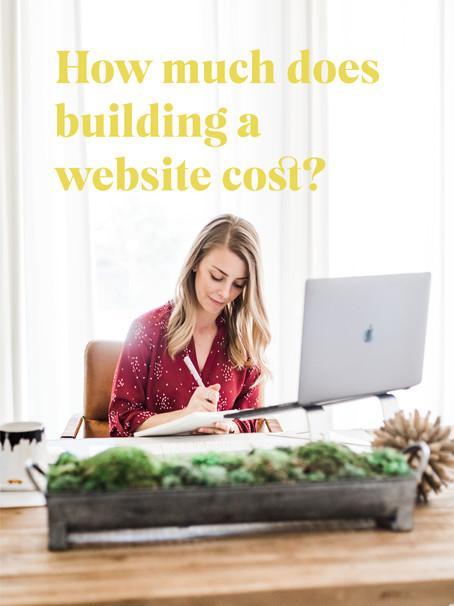 How much does building a website cost?