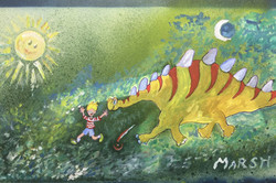 Bryon Marshall - Dinosaur Game