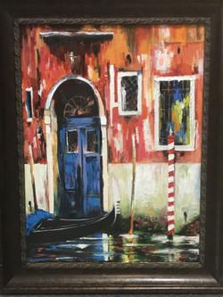 Anu Krishnan- Blue Door