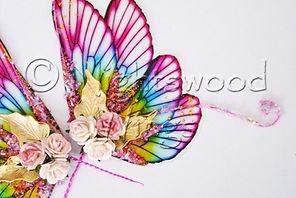 Transparent Art Doll Wings