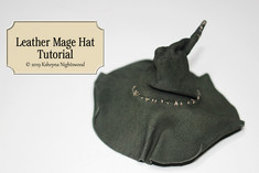 Leather Mage Hat
