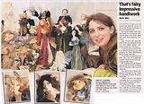 Nightswood Art Dolls in Geelong Advertiser 11 June 2014